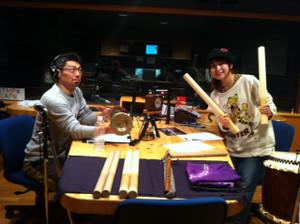 林幹先生の和太鼓演奏にびっくり...