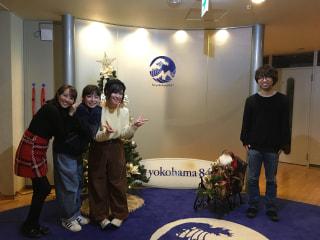 Sakuちゃん神田莉緒香ちゃんトミタ栞ちゃん橋口洋子ちゃんのクリスマス女子会❤