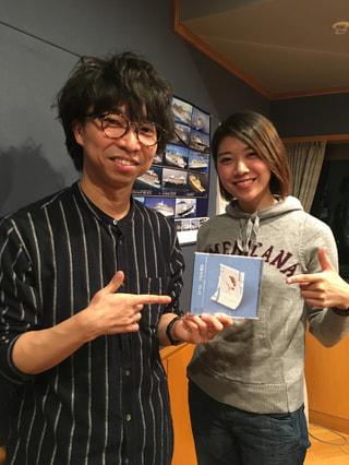言葉の魔術師!シンガーソングライター山崎あおいさんをお迎えしました