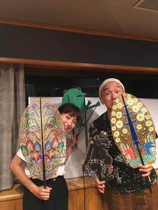 影絵師でありミュージシャンで多才すぎる川村亘平斎さんと影絵をしたよの回