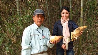 春の愛川町タケノコ掘り(4月16日放送)