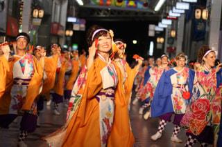 【よさこい】田中恵美子さん
