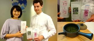 日本茶インストラクター・ブレケル・オスカルさん