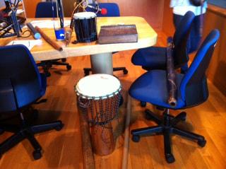 民族楽器で異文化を楽しむ。