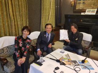 かながわ観光親善大使・河村隆一さんをゲストに迎えて
