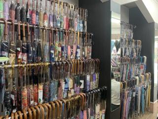 平塚の洋傘専門店「こばり」さんにお邪魔してきました。