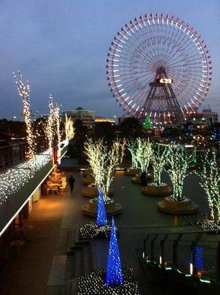 横浜のクリスマスイルミネーション