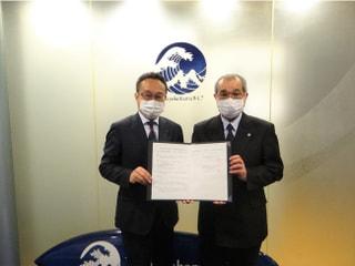 県立商工高等学校と連携協定を締結!