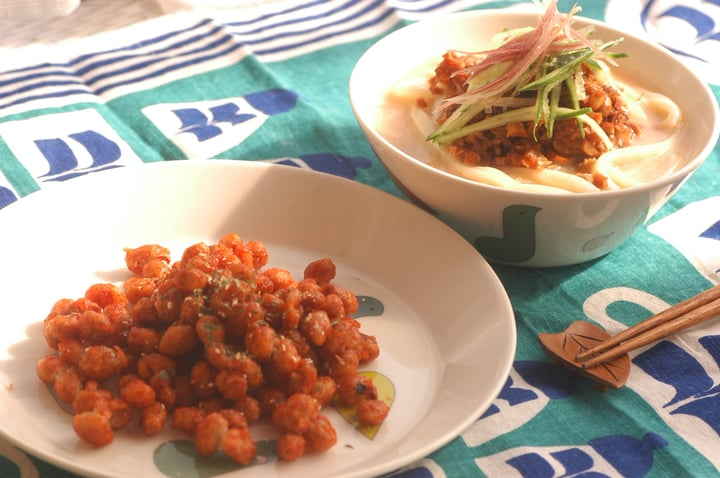 アレンジ 節分 豆