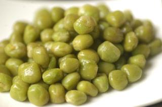 青エンドウ豆の『お豆のチカラ』