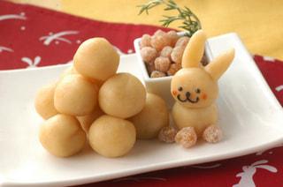 「ヒヨコ豆のお月見団子」