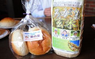 かながわブランドサポート店のコラボ!みがき玄米パン