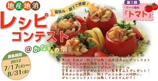 地産地消レシピコンテスト@かなさんの畑