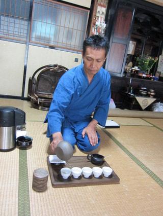 静岡のお茶農家さん!山水園・内野清巳さん