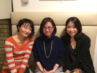 須田祥子さん、奥村愛さん、川久保賜紀さん