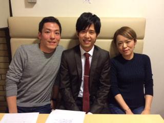 高橋洋太さん、高田有莉子さん、三浦一馬さん