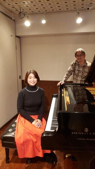 今夜のゲスト ピアニスト KUNIKOさん