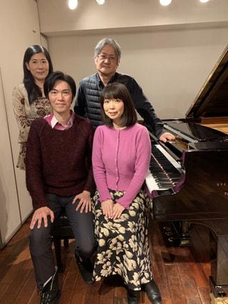 今夜のゲスト ピアノデュオ 伊賀あゆみさん&山口雅敏さん