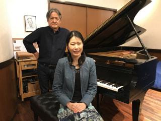 今夜のゲスト ピアニスト 西井葉子さん