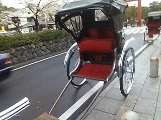 人力車で鎌倉探索です!