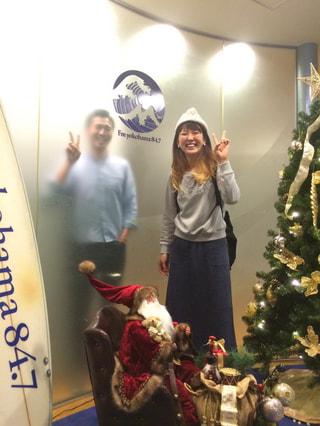 クリスマスツリーにおしっこをしちゃうかも!?