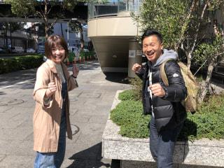 【美女とサトル】4月の助手席はアモーレ!長友愛莉さん!
