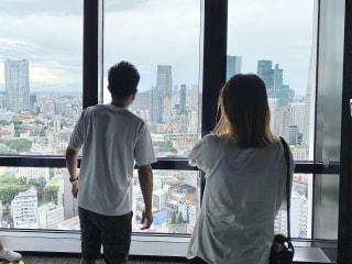 【美女とサトル】東京タワー外階段ウォークデート!