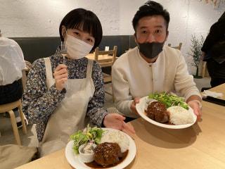 【美女とサトル】お肉 & 横浜地野菜ランチデート♡