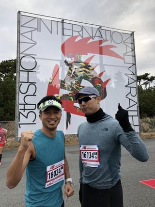 湘南国際マラソン!おつかれさまでした!