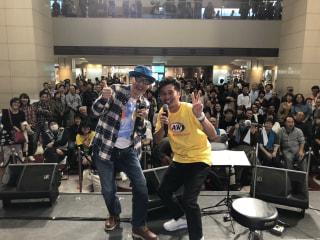 斎藤誠さんが沖縄チャンプルーカーニバルのステージに登場!