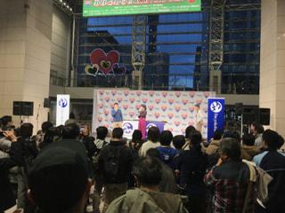JOG STATIONの福島和可菜さんがステージに登場!