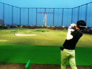 ゴルフ練習!