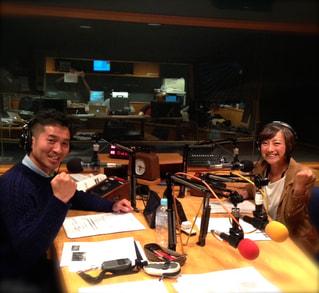 福島和可菜さんと2014JOG STATION反省会!