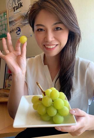 秋の味覚!おいしいおいしいブドウ!!