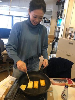 『大豆でヘルシー 美味しいワルワル!』、今週は、 「油揚げ、バター醤油炒め」