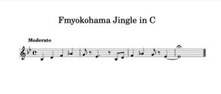 FMヨコハマのジングル楽譜公開中!