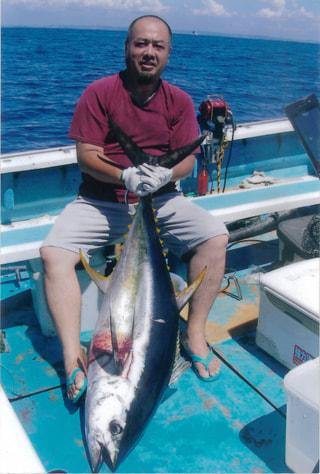 旬のお魚クイズ「キハダのコマセ釣り」①