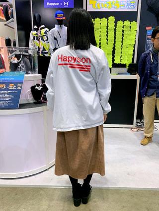 アウトドア看板娘「Hapyson Pt.2」