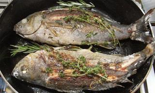ダッチオーブンレシピ「イサキのハーブ焼き」