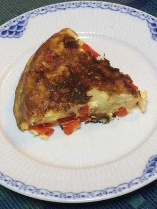 ダッチオーブンレシピ「スペインオムレツ」