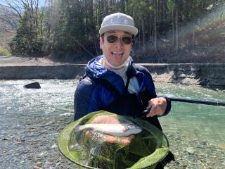 爆釣モーニング「渓流釣り実釣レポート」