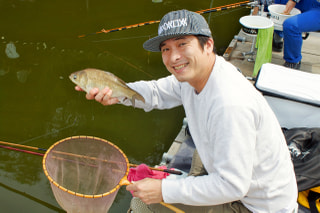 爆釣モーニング実釣取材「へら鮒釣り」