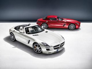 【メルセデス・ベンツ】SLS AMG ロードスターを発売。わずか11秒で開閉操作が可能