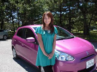 【三菱】ミラージュ試乗記 女性でも楽な気持ちで運転できる新型ミラージュ レポート:藤本えみり