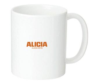 アリシア・キーズのマグカップをプレゼント