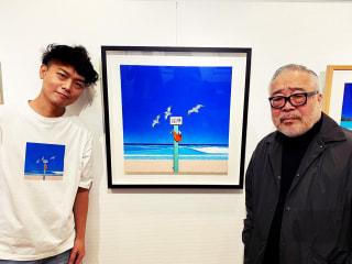 永井博さんにまたまたインタビュー!