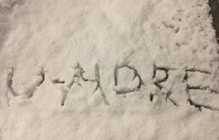 都心で雪も!?