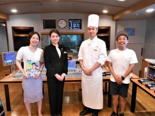 8/10OA 横浜ランドマークタワー70F スカイラウンジ「シリウス」の星野義明さんと小峰夏美さんが出演