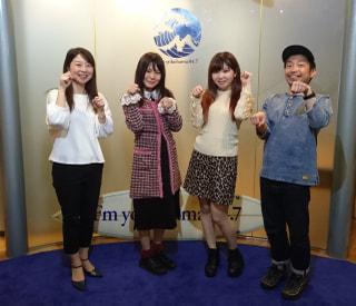 4/13OA 横浜のご当地アイドル「ポニカロード」から入船あんさん・太田あかりさん登場!!