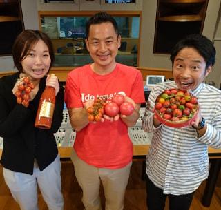 6/8OA 井出トマト農園でトマト狩りを楽しもう‼ 井出 寿利さん